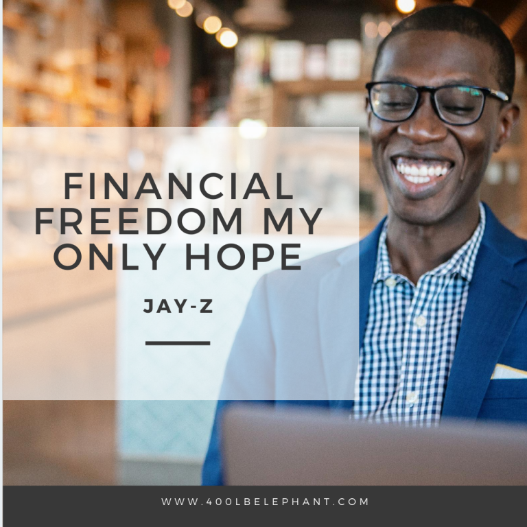 Financial Freedom My Only Hope