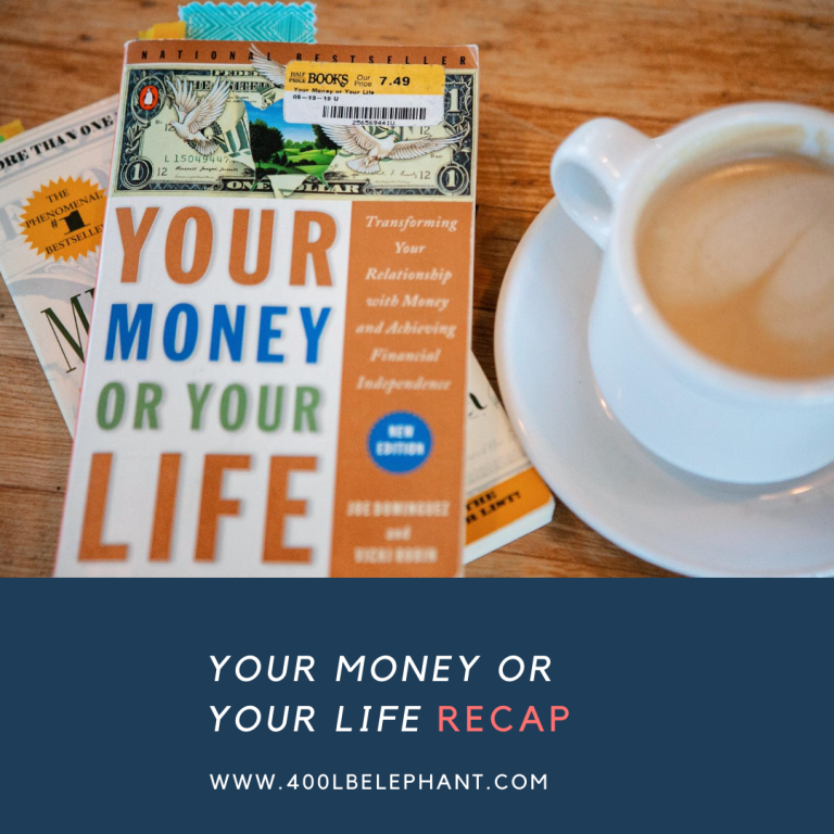 """Your Money or Your Life""-Vicki Robin"