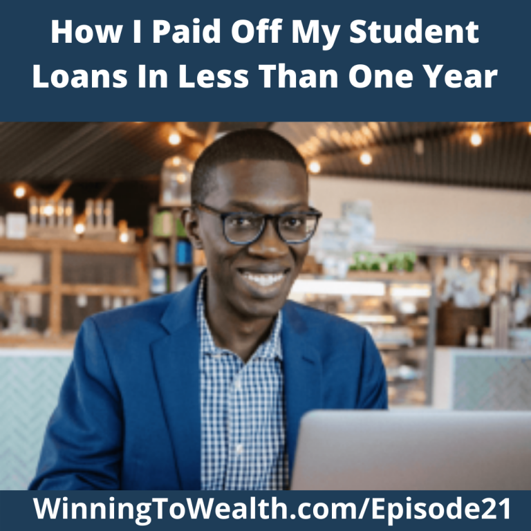 Winning To Wealth: How Kofi Paid Off His Student Loan In One Year